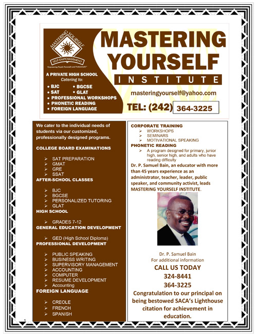 Mastering Yourself Institute